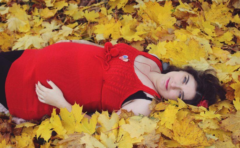 Pożegnałam 8 miesiąc ciąży – ostatnia krzywa